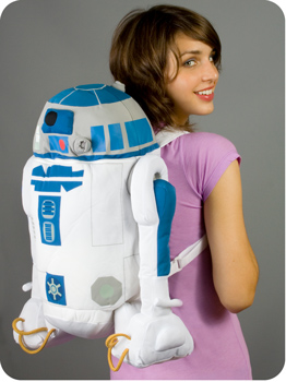 Plush R2D2 Backpack