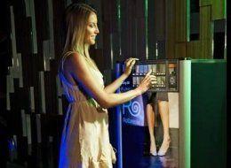 Flats vending machine in London.