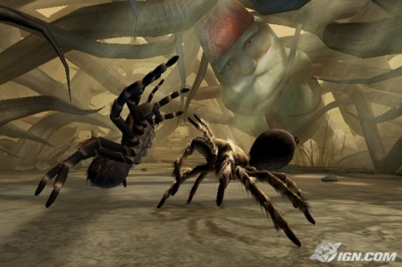 play as both a tarantula and scorpion as you fight through a world of creepy-crawlies.