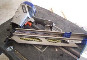 Now that's a nail gun! Toolmonger's Hands-On feature offers reviews of hands-on experiences with various tools.