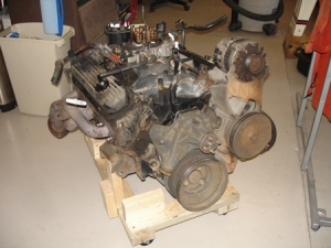 Why buy an engine stand when you can build your own?