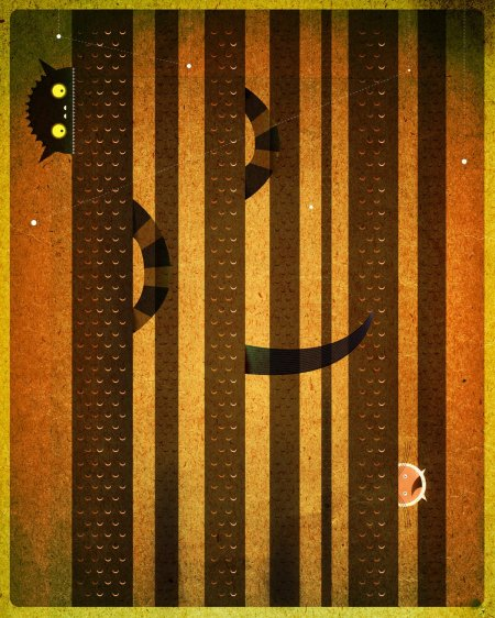 """Hide and Seek"" by Dan Matutina"