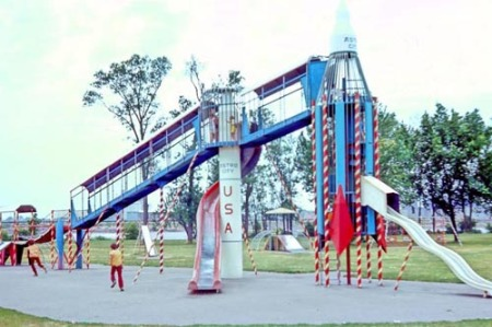 rocketship slide