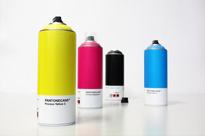 Pantone Spray Paint Cans