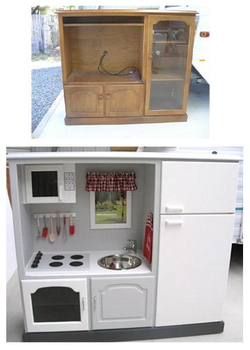 DIY Play Kitchens Deep Fried Creative